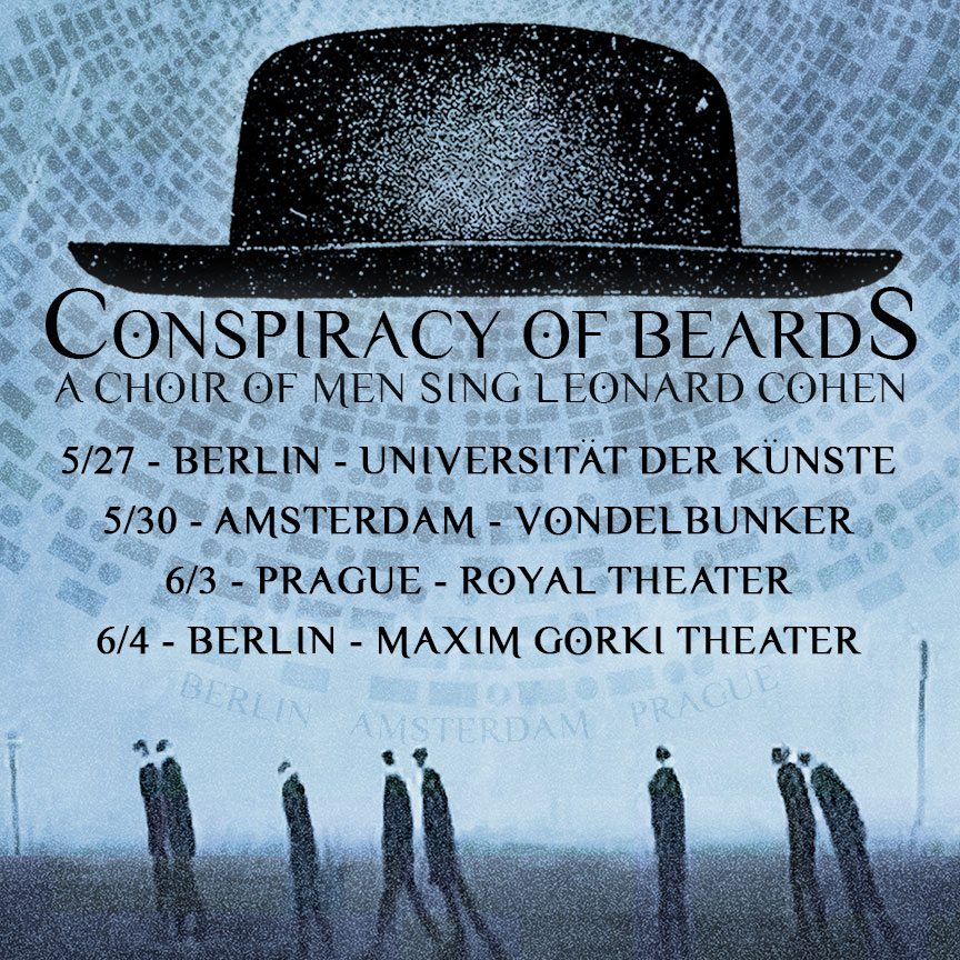 Conspiracy of Beards 2017 European Tour
